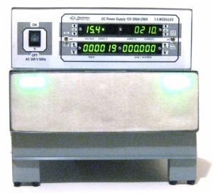 Трехфазный источник питания BVP Prof 15V 400A, вид спереди